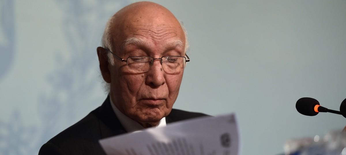 India cannot revoke Indus Waters Treaty on its own, says Pakistan's Sartaj Aziz