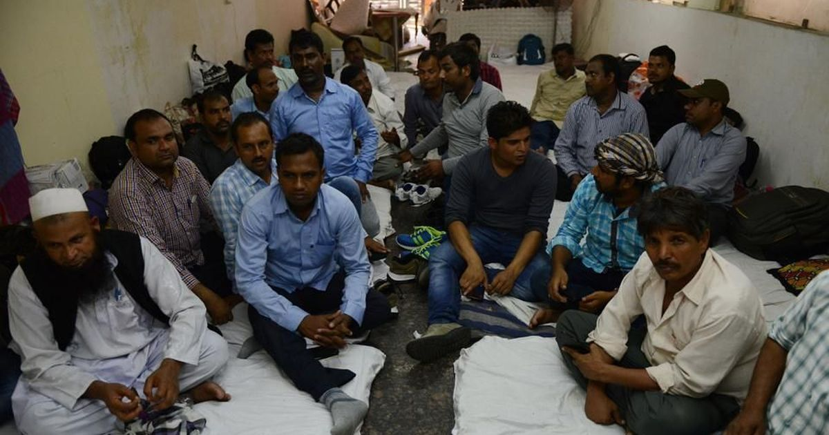Two Indians have died in Saudi Arabia waiting for wage dues, and thousands more are stranded