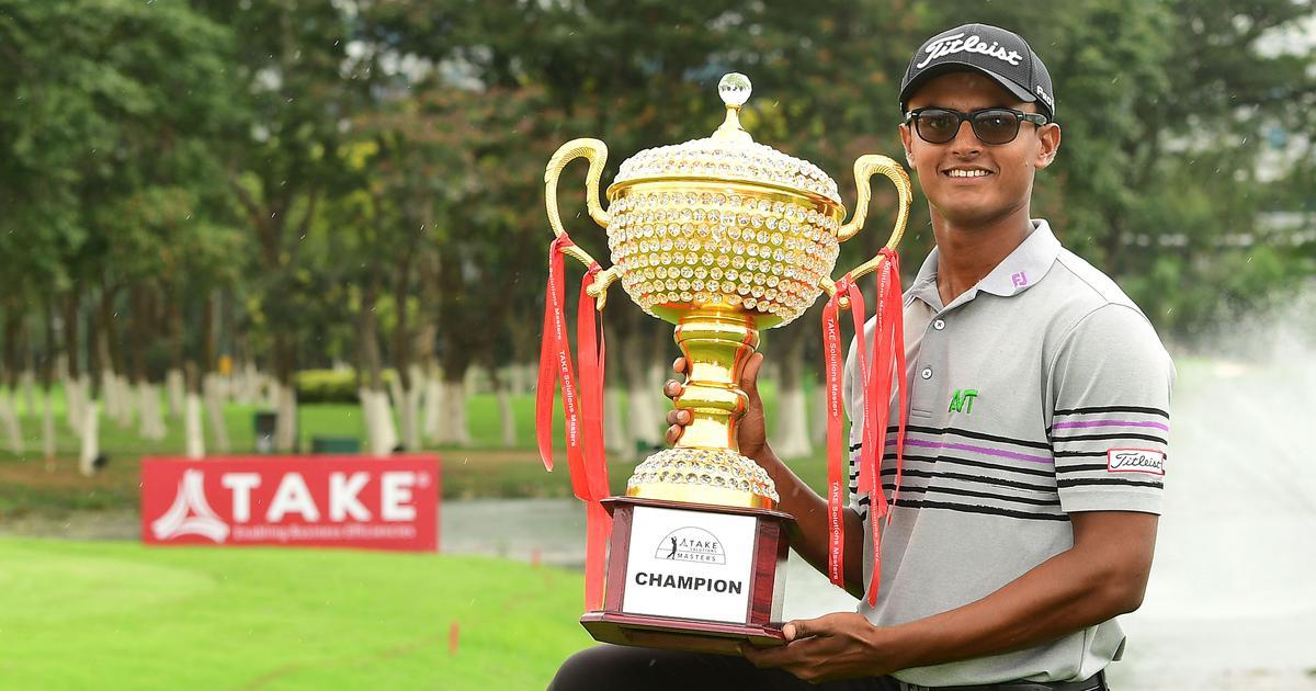 Bangalore Masters: India's Madappa wins first Asian Tour title at 20