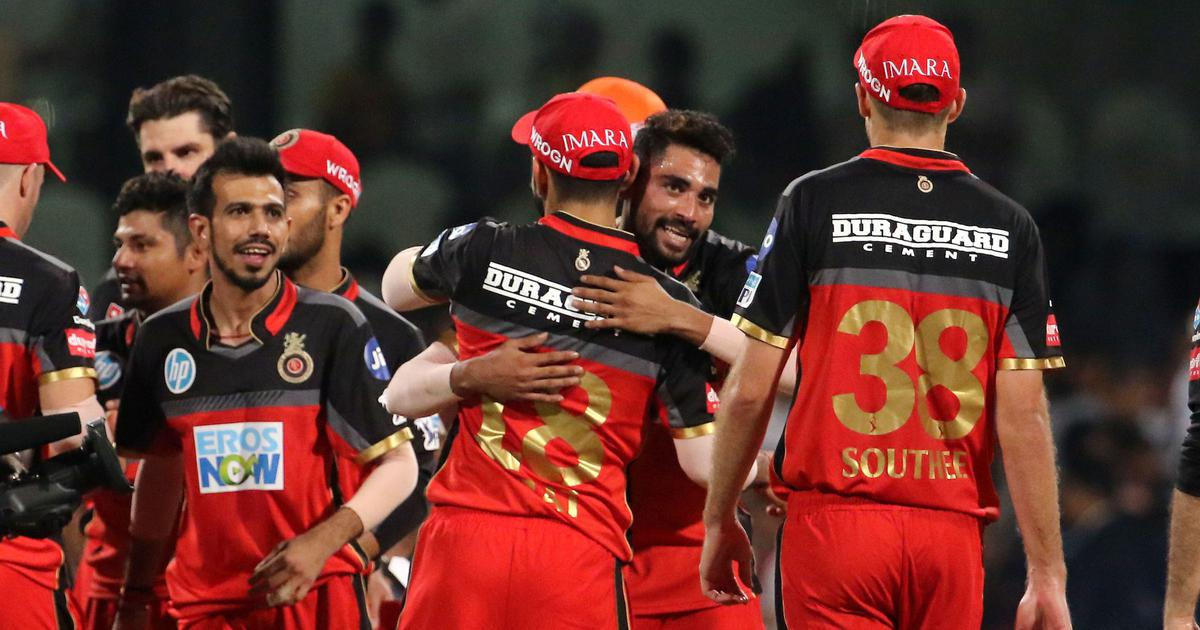 Royal Challengers prevail in a tense run-fest against Sunrisers to stay alive in the IPL