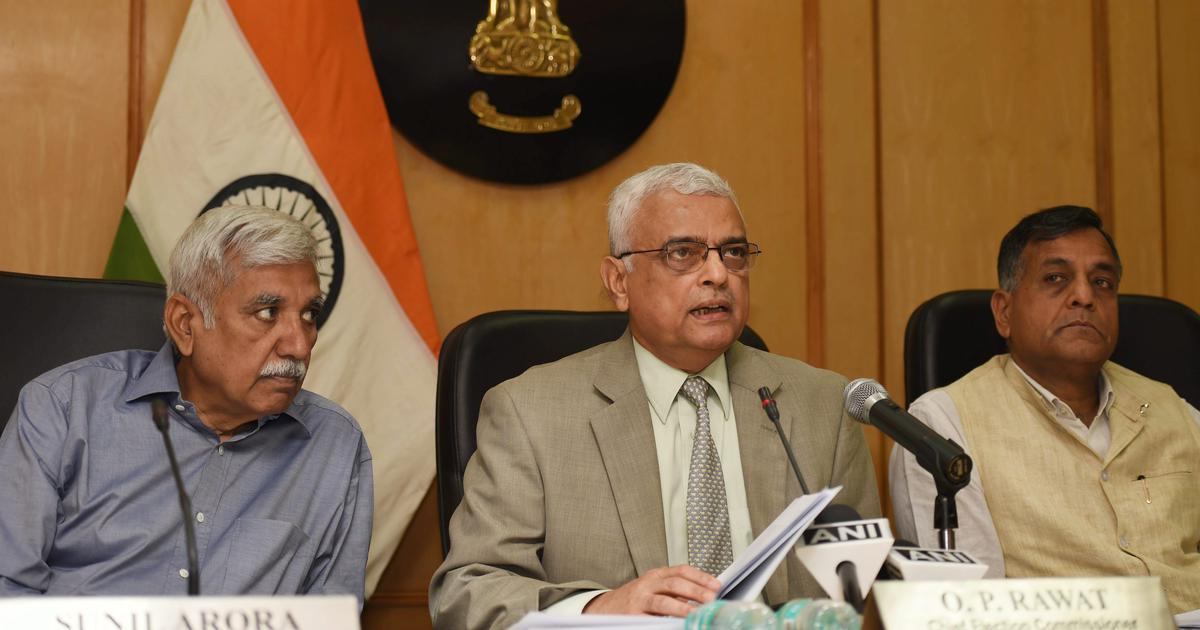 Elections to four states, Lok Sabha can be held simultaneously, says chief election commissioner