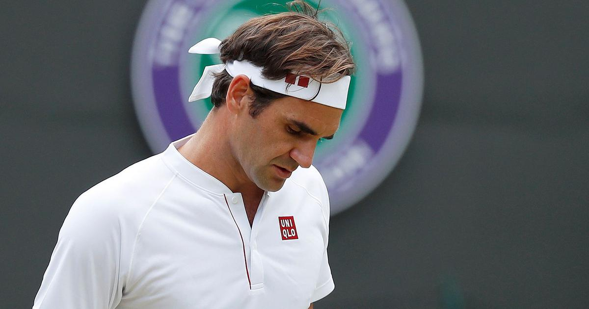 Kevin Anderson ousts eight-time champion Roger Federer from Wimbledon