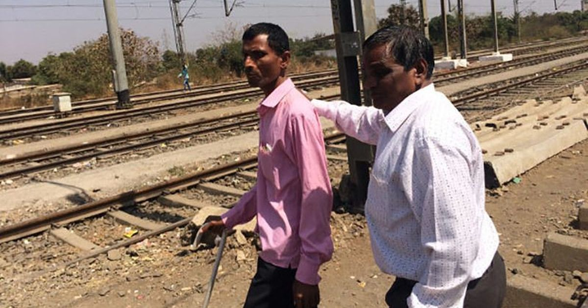 The visually challenged community in Thane's Vangani want jobs, safety and dignity