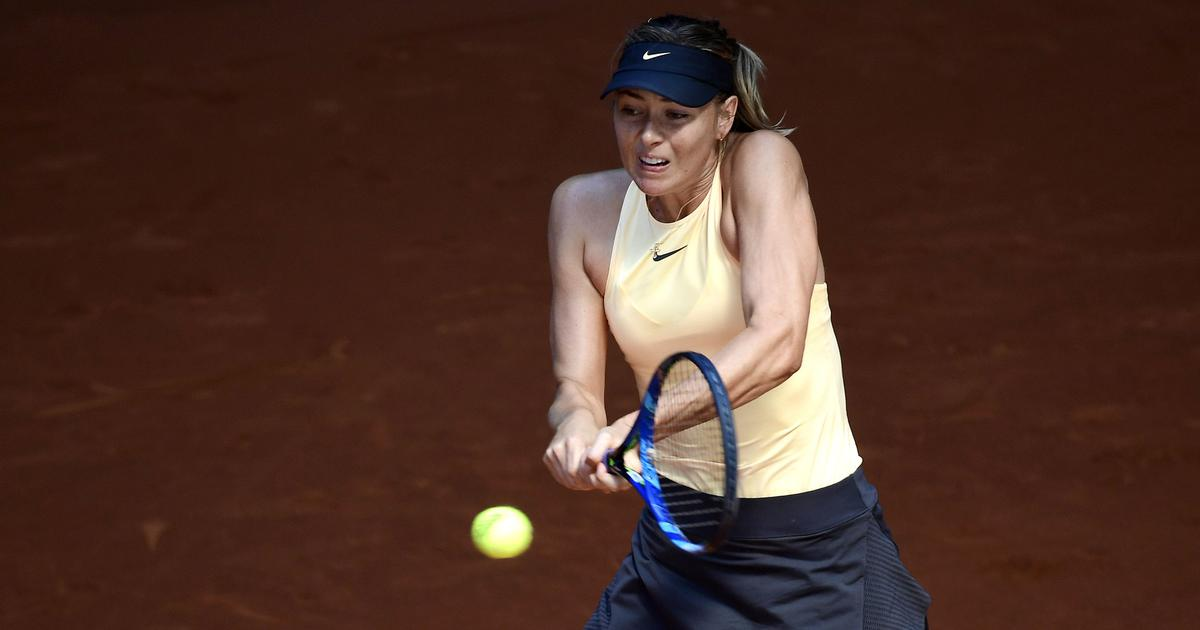Italian Open: Sharapova battles through rain, defending champ Svitolina, Ostapenko advance