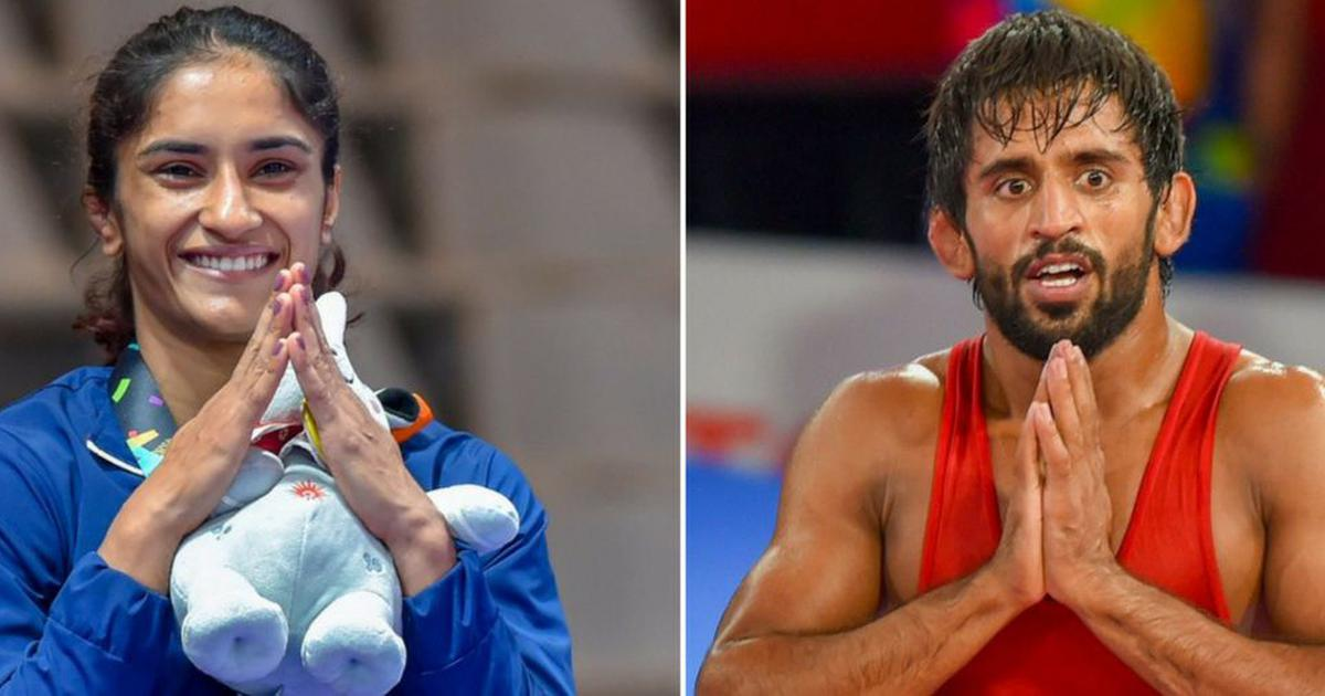 Wrestling: Bajrang Punia goes to Punjab, Mumbai bag Vinesh Phogat in PWL 4 draft