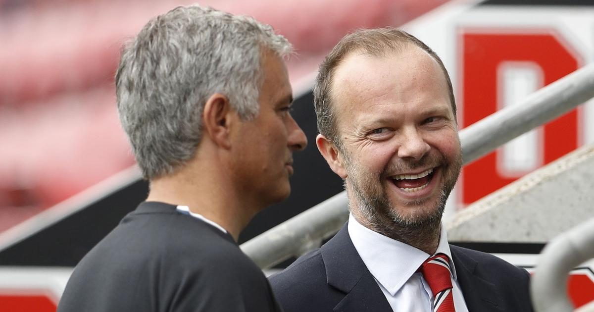 Image result for jose mourinho and ed woodward