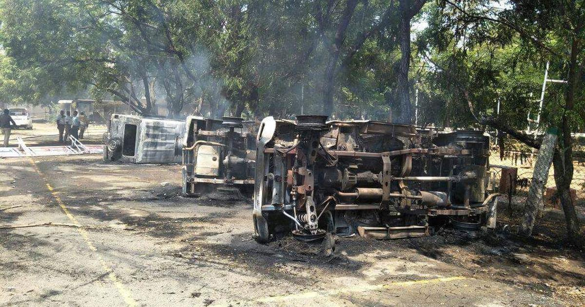 Anti-sterlite protest turns violent in Tamil Nadu 20 hurt