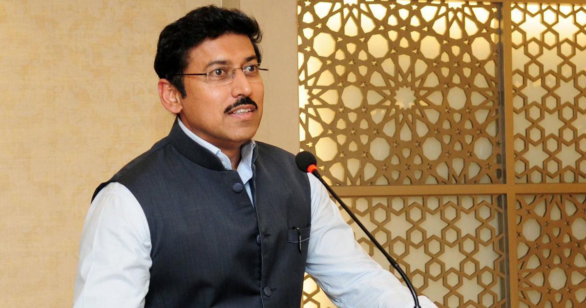 भाजपा के खिलाफ विपक्ष का एकजुट होना अच्छा है, सारी गंदगी एक साथ हट जाएगी : राज्यवर्धन राठौड़