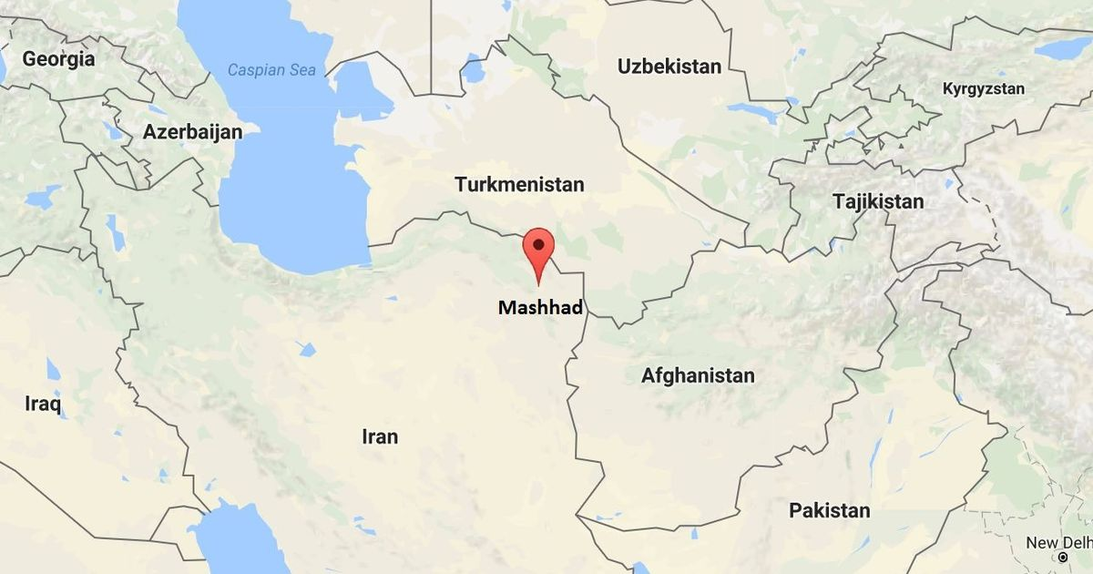 Earthquake hits near Iran Shiite holy city Mashhad
