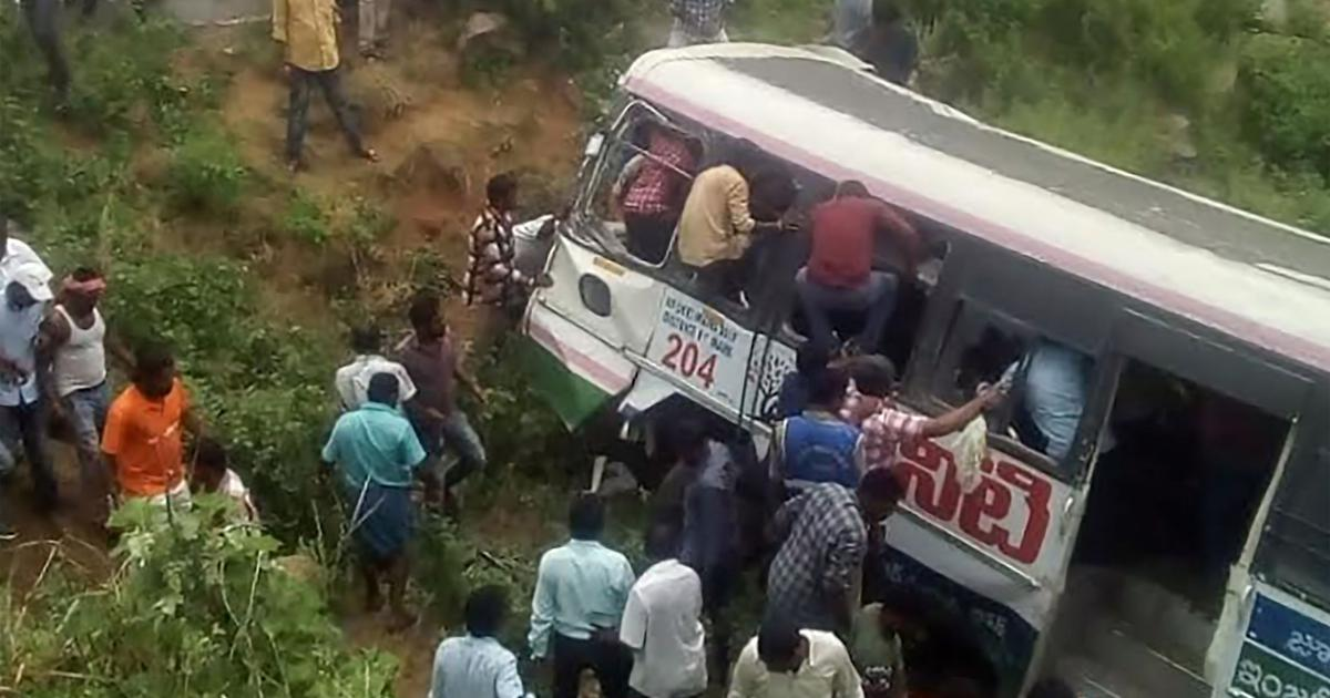 The big news: 57 people die after bus falls into gorge in Telangana, and nine other top stories