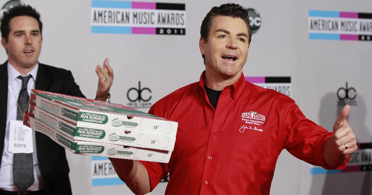 Papa John's founder John Schnatter resigns as chairman after apologising for racial slur