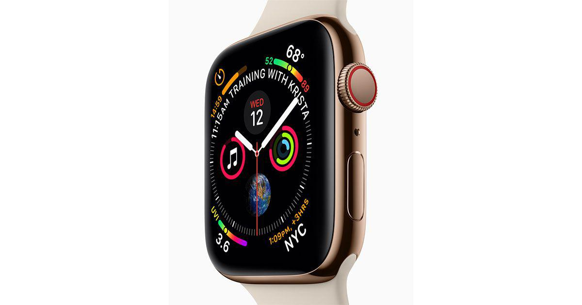 Image result for Apple Watch Series 4 With Bigger Display, ECG Capability Launched