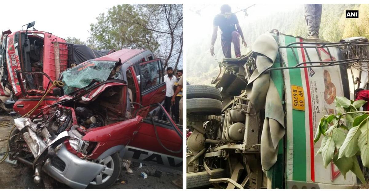 महाराष्ट्र और हिमाचल प्रदेश में सड़क हादसे, 14 लोगों की मौत