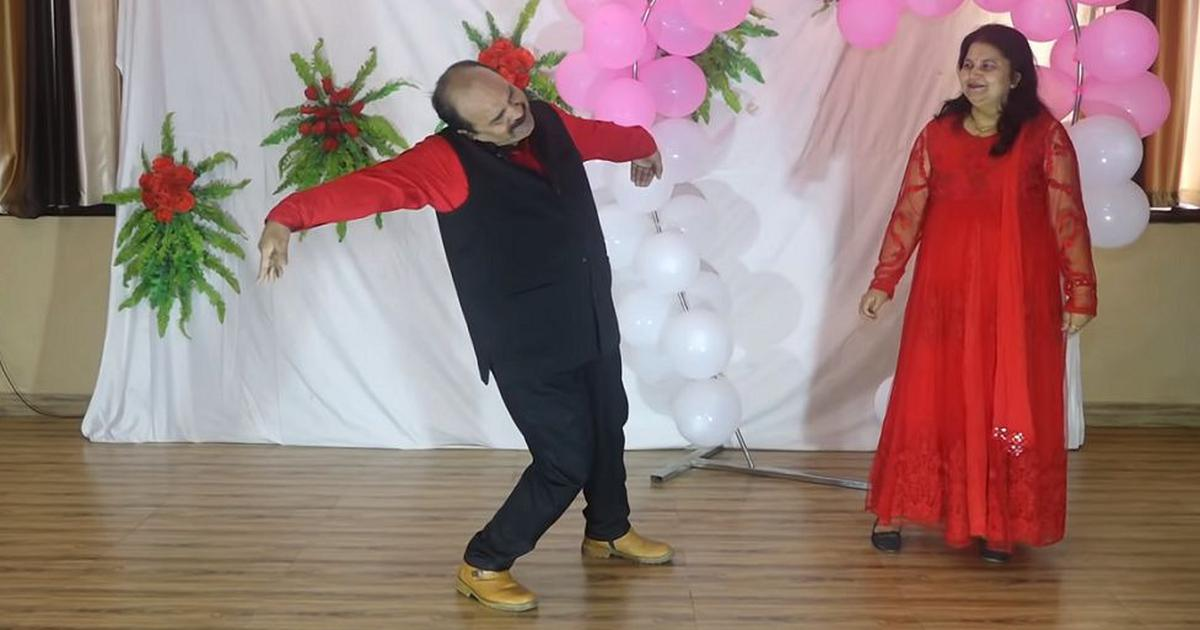 Watch: Professor-turned-dancing star Sanjeev Shrivastava is back with a Mithun Chakraborty song