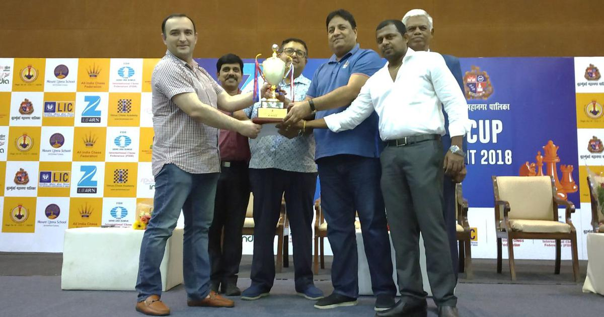 Chess: Tajikistan's Amonatov Farrukh bags the 11th Mumbai Mayor's Cup