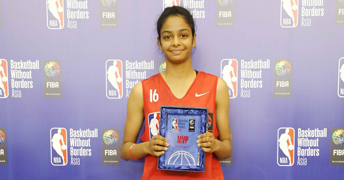 Sibling rivalry got her into basketball, but India's Sanjana Ramesh now has bigger goals