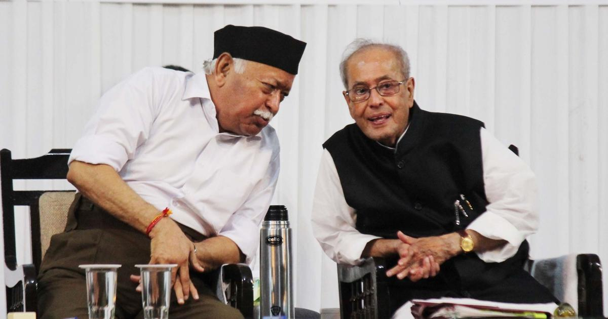 The big news: RSS says divisive forces behind Pranab Mukherjee's fake photo, and 9 other top stories