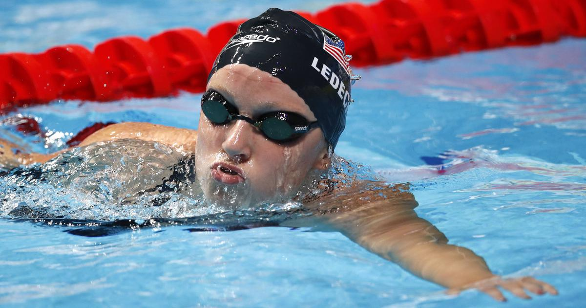 Swimming: Olympic champion Katie Ledecky smashes own 1,500 metres record in pro debut