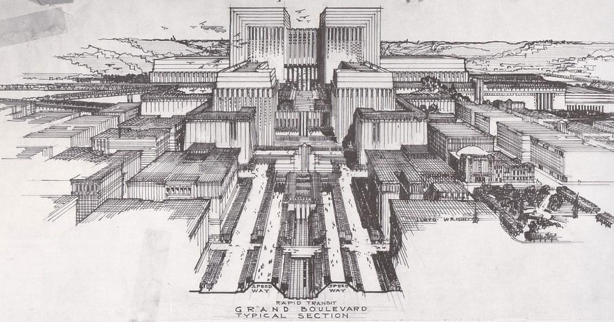 Realistic Alien Cities Concept Art