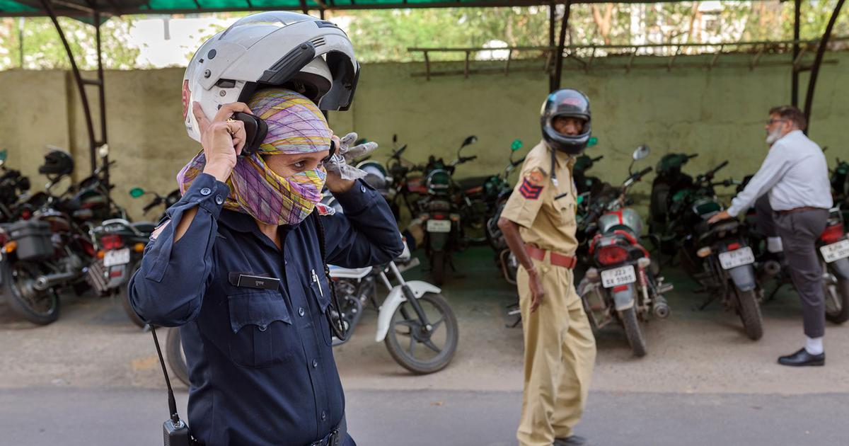 In Jaipur, an all-female biker squad hopes to keep the streets safe for women