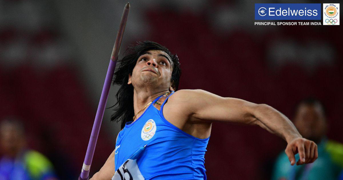 Favourite Neeraj Chopra wins javelin throw gold with yet another national record