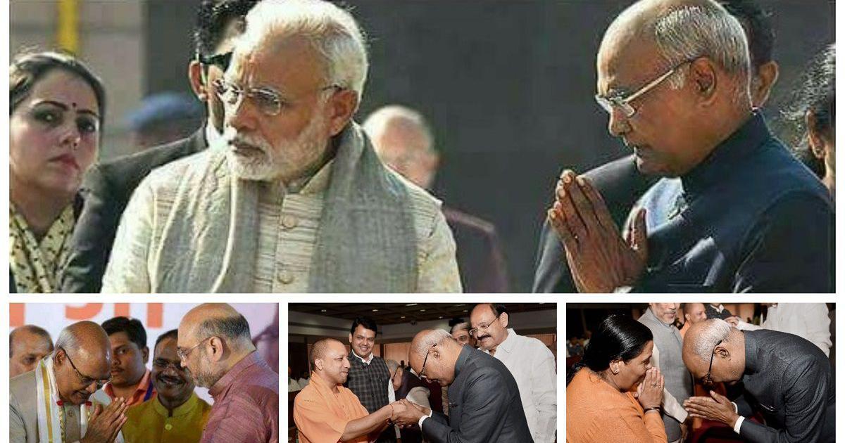 क्यों इन तस्वीरों के आधार पर राष्ट्रपति राम नाथ कोविंद और भाजपा की आलोचना सही नहीं है