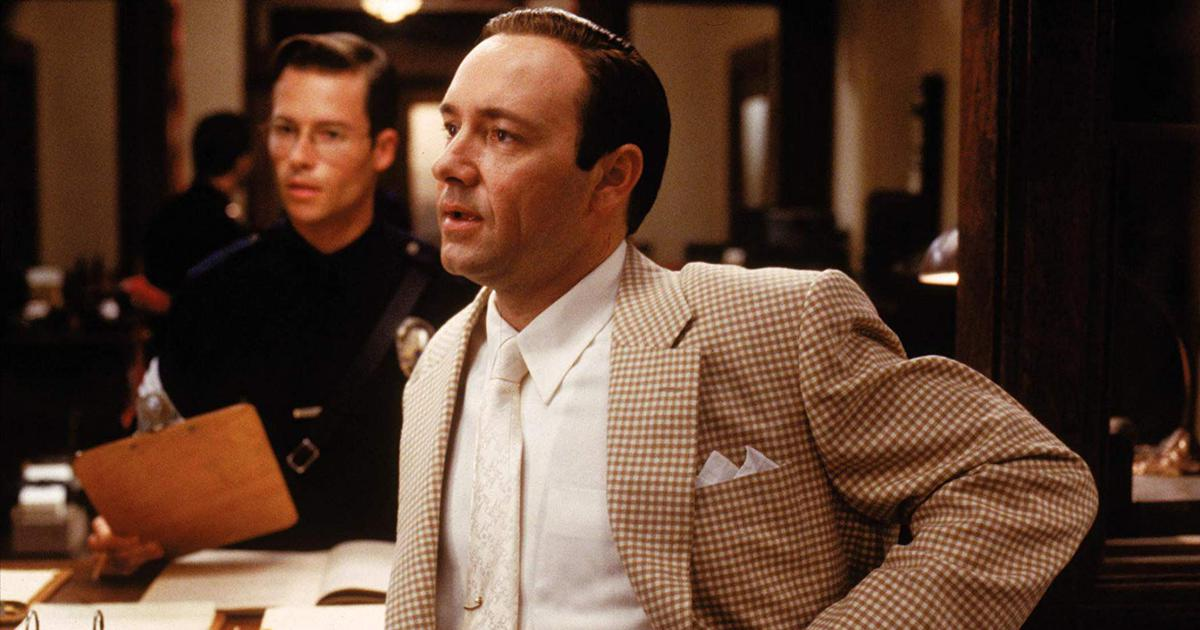 'A handsy guy': Guy Pearce describes his 'LA Confidential' co-star Kevin Spacey
