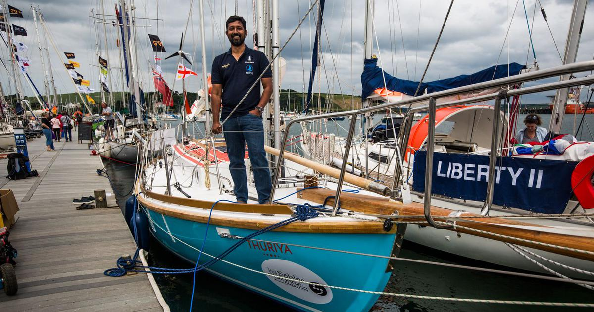 Abhilash Tomy is not only sailing around the world unassisted again, but also going back in time