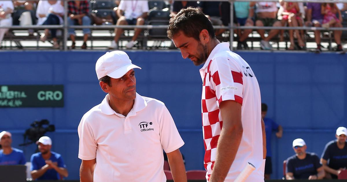 Days after Serena controversy, umpire Ramos now hands warning to Cilic for smashing racket