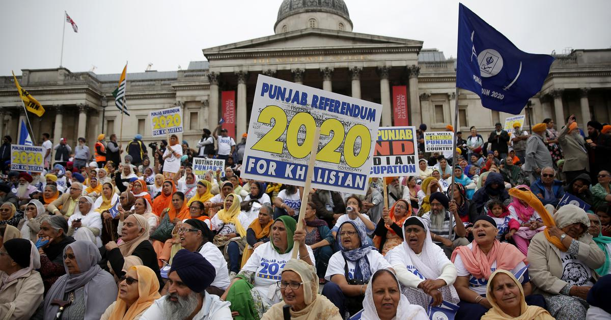 UK: Indian diaspora groups hold rally to counter pro-Khalistan public meeting in London