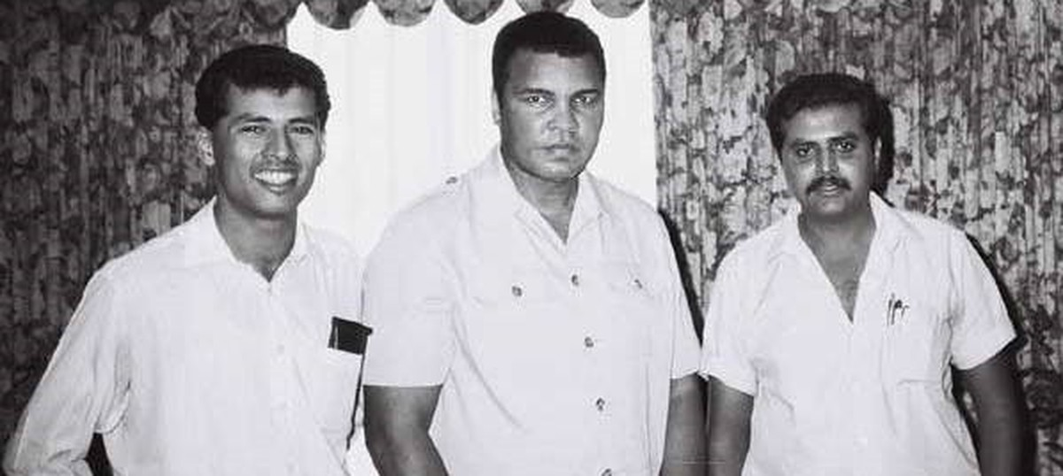 'India is a special country': A brief encounter with boxer Muhammad Ali in Chennai, 1990