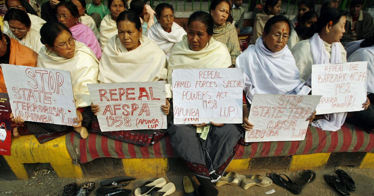 Soldiers' unprecedented petition to strengthen AFSPA sparks fears about politicisation of the Army
