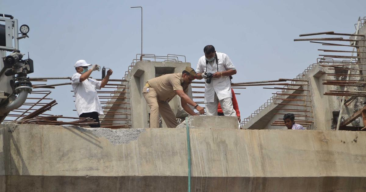 Varanasi flyover collapse: Police say they had warned the firm about safety violations, filed an FIR
