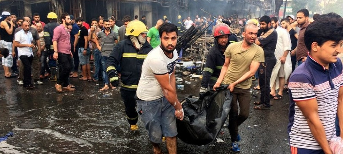 Toll from Baghdad bombing rises to more than 200, nearly 150 wounded