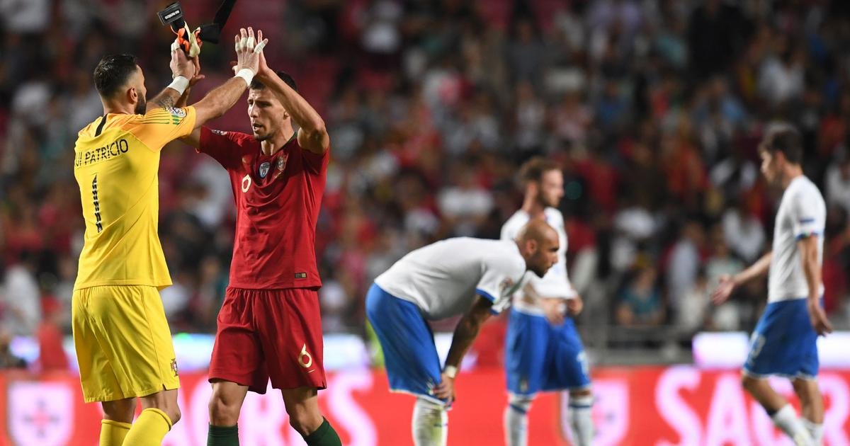 UEFA Nations League: Andre Silva goal puts Portugal past Italy