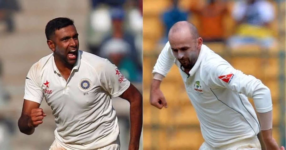Ashwin's very cagey with his pace variations: Lyon says he can't be compared with the India spinner
