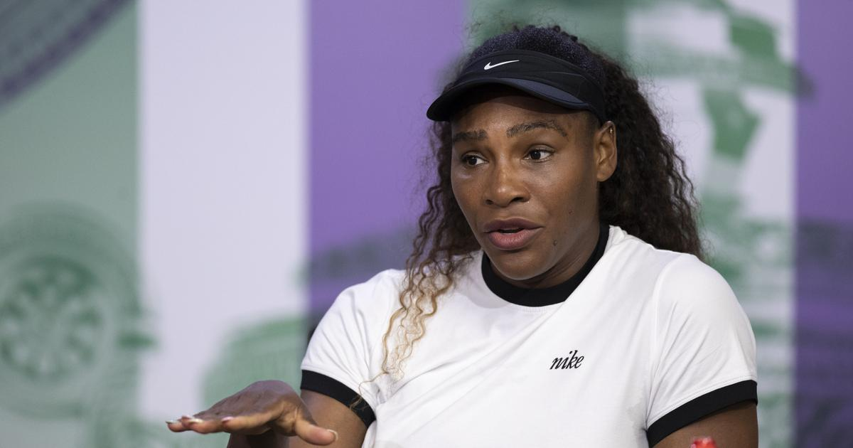 Question Serena williams topless answer