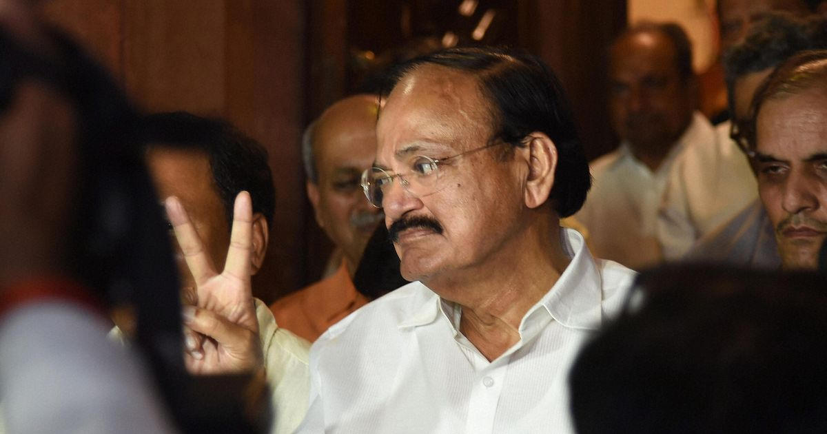 Venkaiah Naidu is the NDA's candidate for vice president
