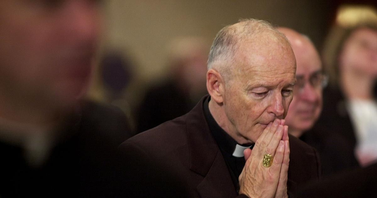 USA prelate resigns from College of Cardinals