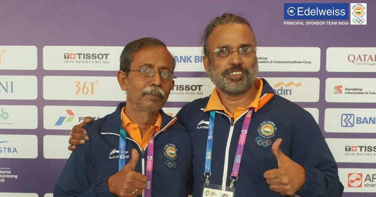 एशियाई खेल 2018 : प्रणब बर्धन और शिबनाथ सरकार ने भारत को ब्रिज में स्वर्ण पदक दिलाया