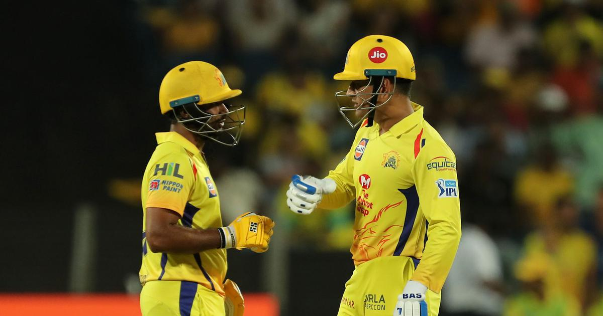 MS Dhoni helped me a lot in terms of how I recovered this season, says Ambati Rayudu