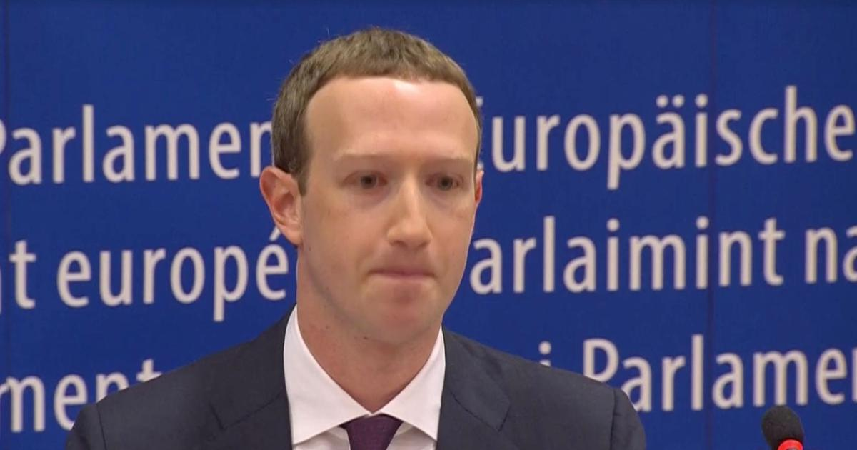 Zuckerberg apologises to European Union for Facebook data leak