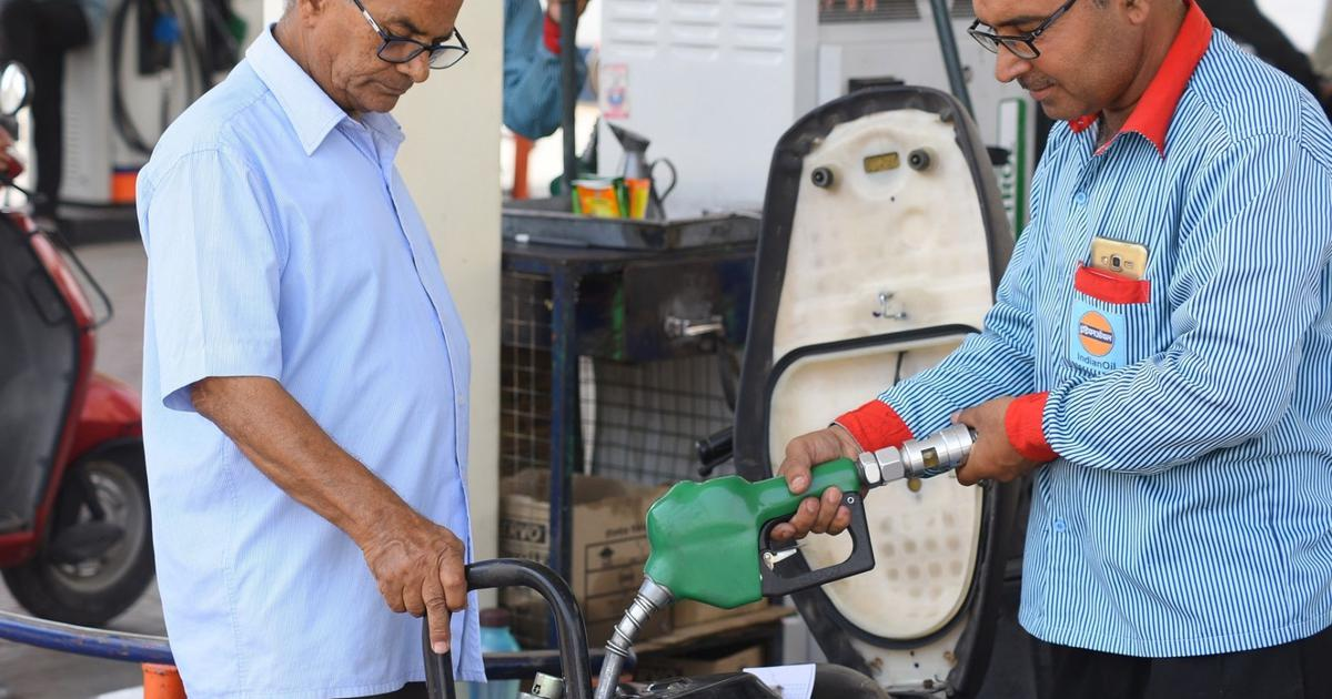 Petrol prices reduced by up to 22 paise per litre – the most in 10 days