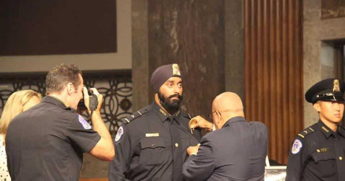 Ludhiana-born man becomes first turbaned Sikh to be part of US presidential security team