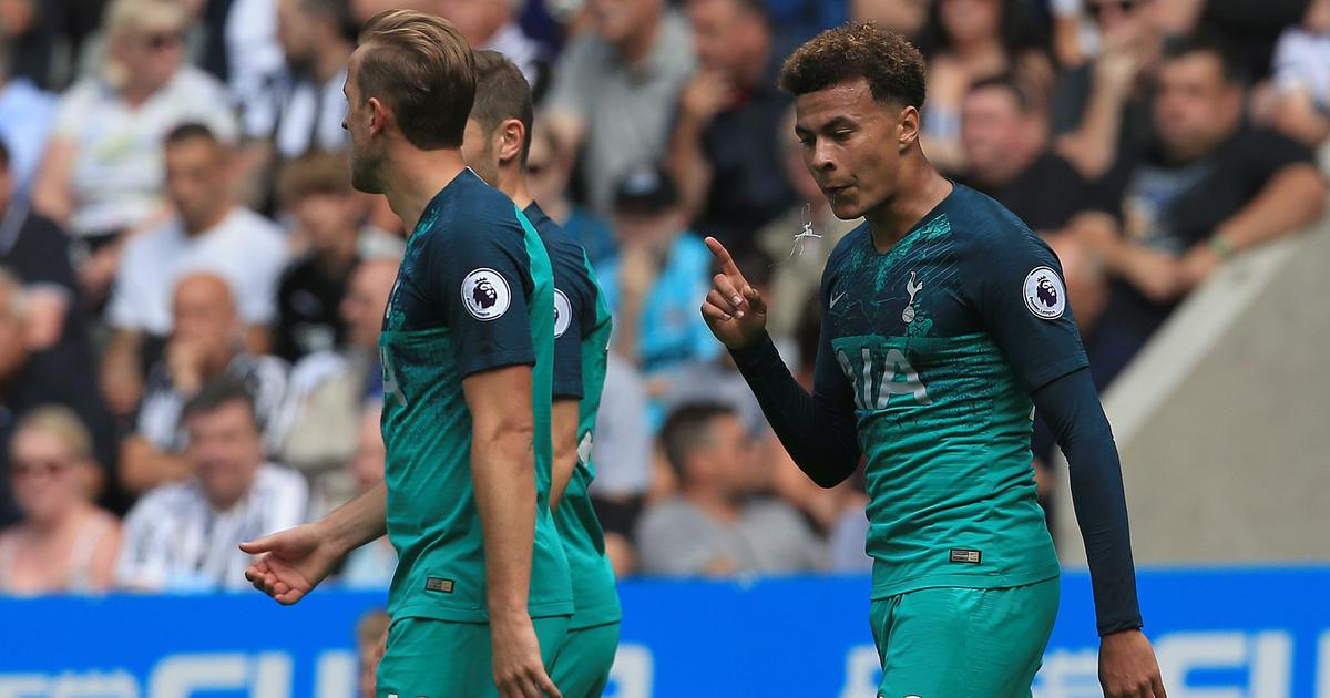 Premier League: Tottenham silence complaints of no signings with a 2-1 win over Newcastle