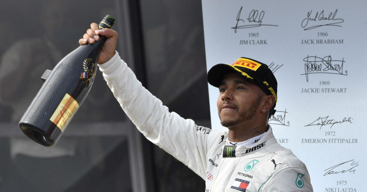 Hamilton becomes Formula One's highest paid driver after extending contract with Mercedes