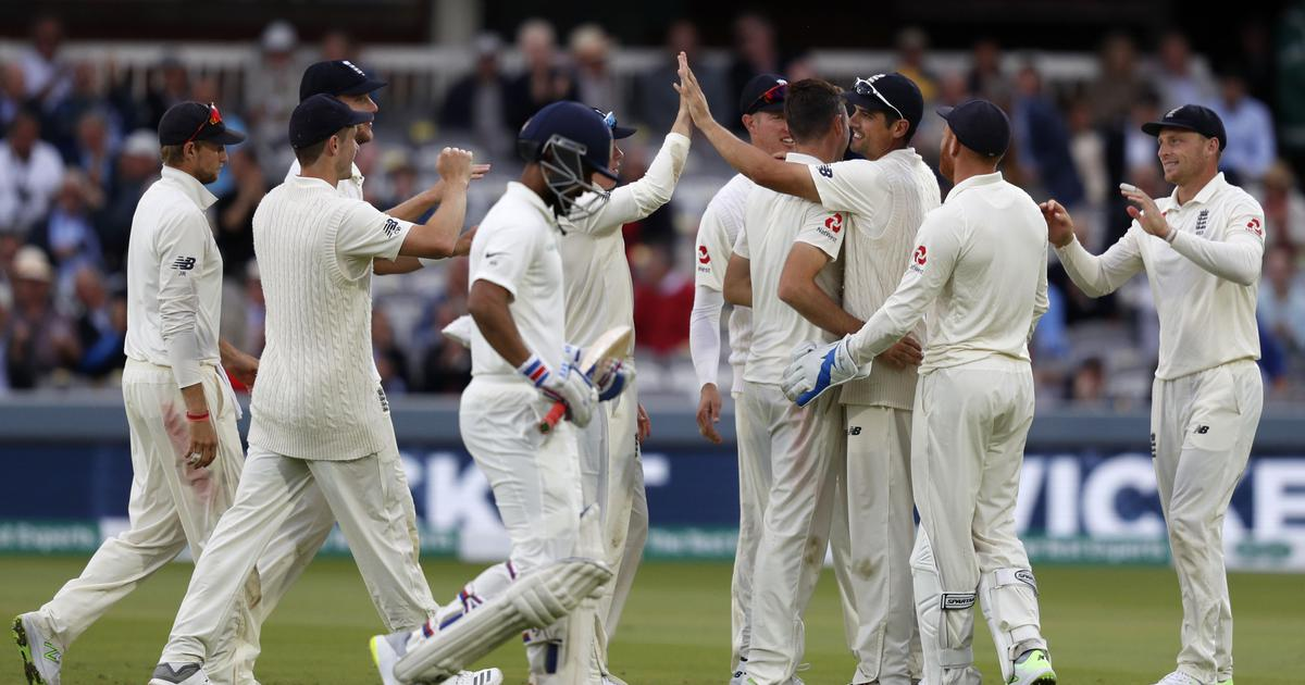 Anderson double keeps England in charge of second Test against India