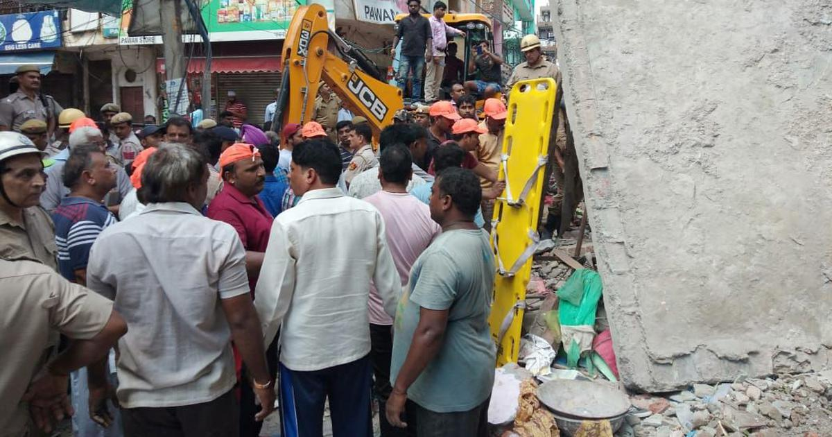 Delhi: Six dead, seven injured after three-storey building collapses in Ashok Vihar