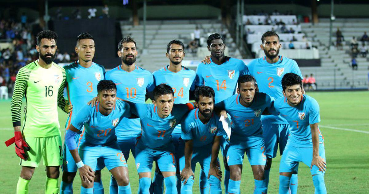 Football: Defending champions India to take on Tajikistan in Intercontinental Cup opener