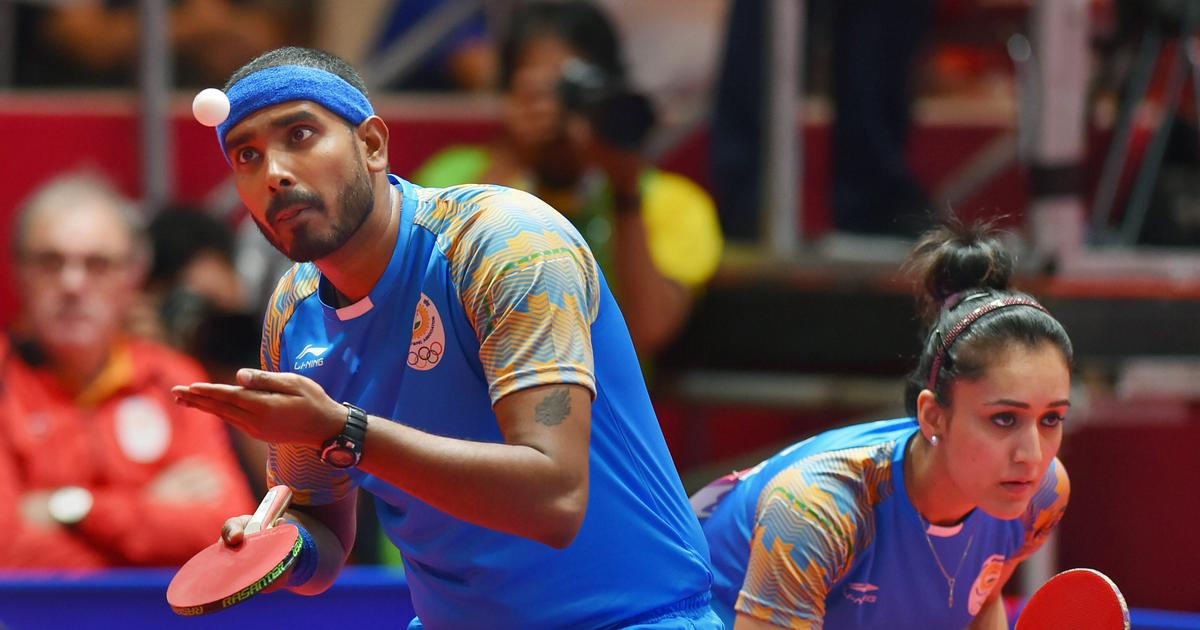 Table tennis: Mixed doubles India's best chance of a medal in Tokyo Olympics, says Sharath Kamal